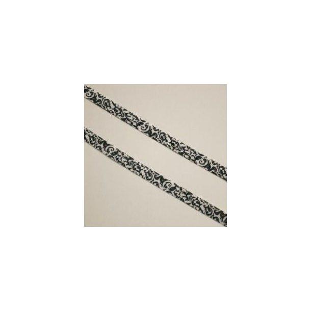 Folde elastik med grafisk mønster