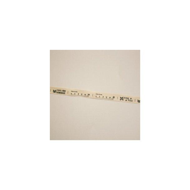35 cm symærker, fire forskellige