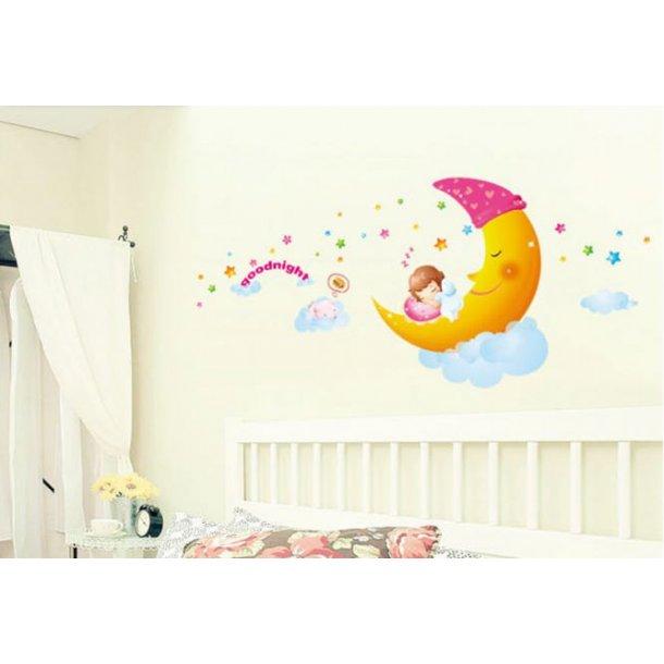 Tre hyggelige wallstickers til børn