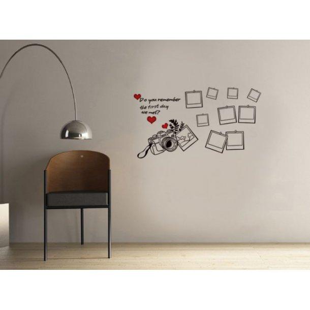Tre flotte wallstickers til dit hjem