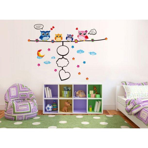 To dejlige wallstickers til dit hjem