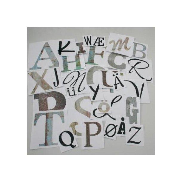 32 sjove bogstaver til dekoration