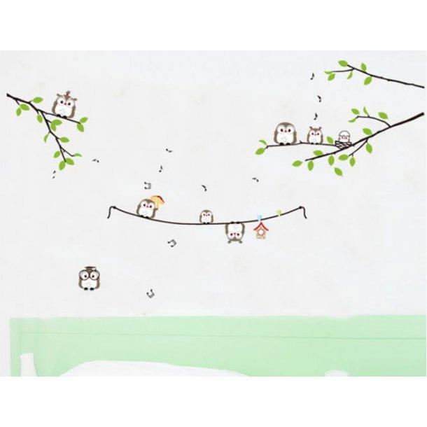Tre wallstickers til børneværelset