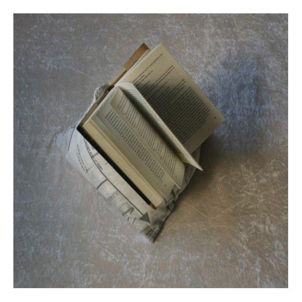 Lille pude til bog eller ipad