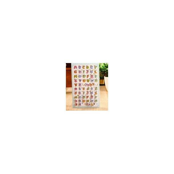 ABC stickers i 3D